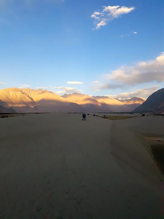 Evening @Sand Dunes