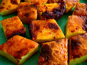 Photo: baked cassava cake snack