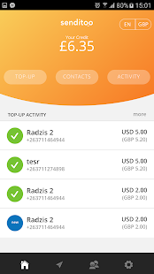 Senditoo - International Mobile Recharge- screenshot thumbnail