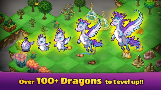 Mergeland - Merge Dragons and  Build dragon home screenshots 2