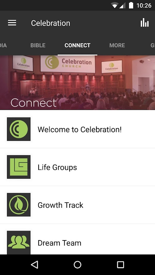 Celebration Church TW- screenshot