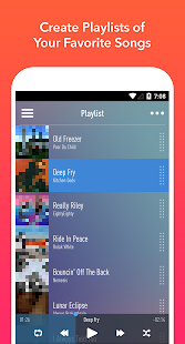 Screenshots of SongFlip - Free Music Streaming & Player for iPhone