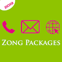 Zong Packages: Call, SMS & Internet Packages 2020 icon