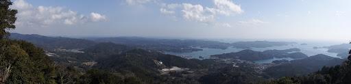 龍仙山からのパノラマ