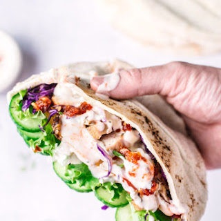 Grilled Chicken Shawarma Pita Pockets Recipe