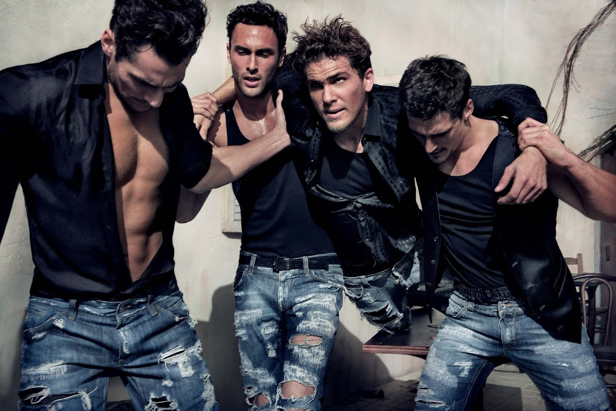 Dolce & Gabbana: 2 Stars in Italian Luxury [men's fashion]