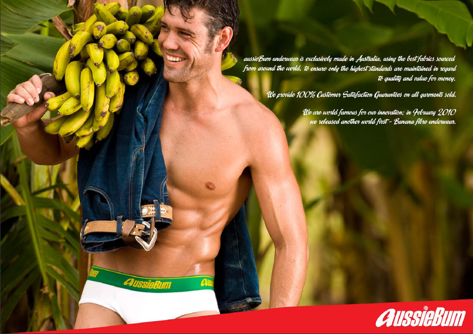 aussieBum Has Gone Bananas! [men's fashion]