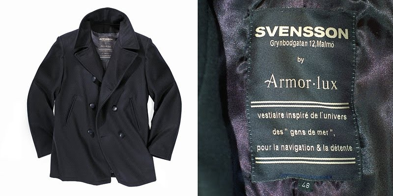 Svensson Sailor Coat by Armor Lux