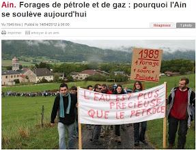 Photo: Article: le Progrès.fr..14 avril 2012