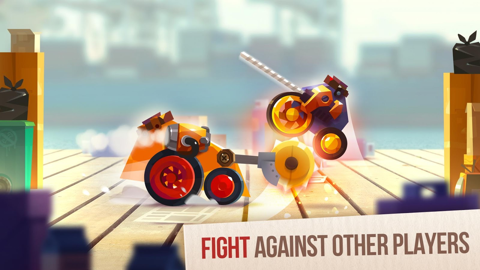 Design Your Own Fighting Robot Game