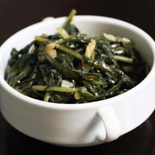 Dandelion Greens with Garlic