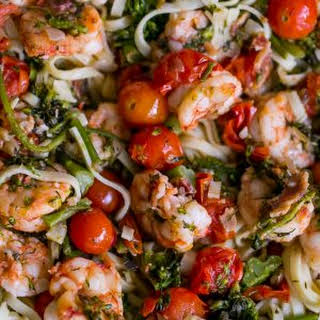 Tuscan Shrimp Linguine.