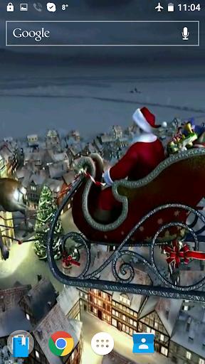 Santa Soon Video Wallpaper