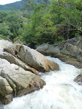 Photo: Ko Phangan motobiking around - one of the first cascades of Sadet waterfall