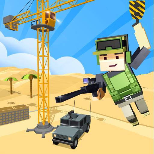 Army Craft: Build & Battle Blocky World Defence