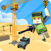 Army Craft: Build & Battle Blocky World Defence
