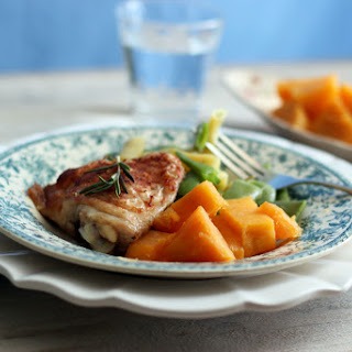 Rosemary Baked Chicken Thighs.