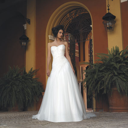 Stunning White Wedding Gowns