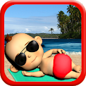 Baby Babsy At The Beach Gold icon