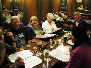 """Photo: The """"other table"""" having a good time too."""
