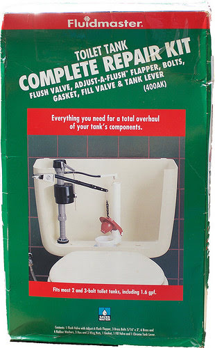 Fluidmaster Toilet Tank Complete Repair Kit (400AK)