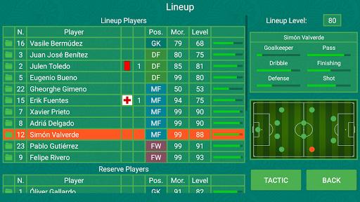 Télécharger Football Team Manager  APK MOD (Astuce) screenshots 1