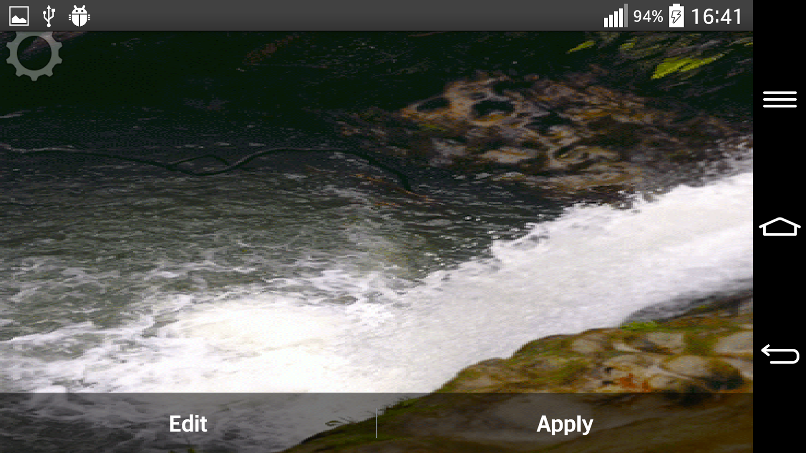waterfall sound live wallpaper android apps on google play