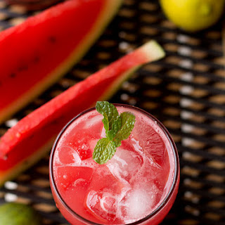 Watermelon Iced Tea Recipe, Easy Watermelon Lime Iced Tea