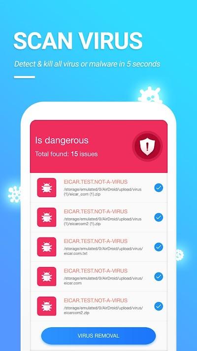 Antivirus & Security With App Locker Phone Cleaner APK