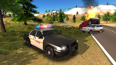 Police Car Driving Offroad - screenshot thumbnail 15