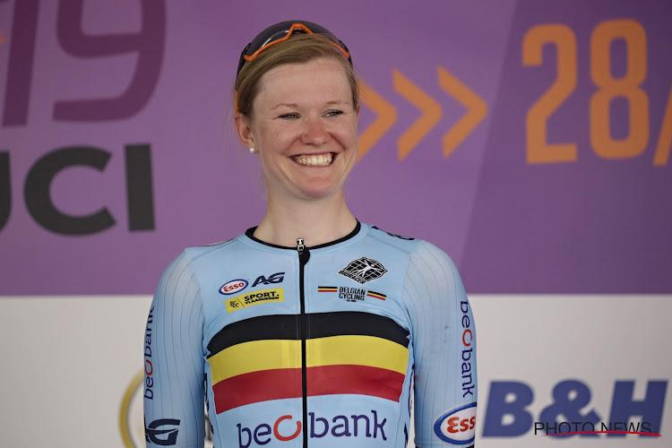 """D'hoore blij met keuzes met oog op na haar wielercarrière en rijdt laatste WK: """"Kopecky in zetel naar finale brengen"""""""