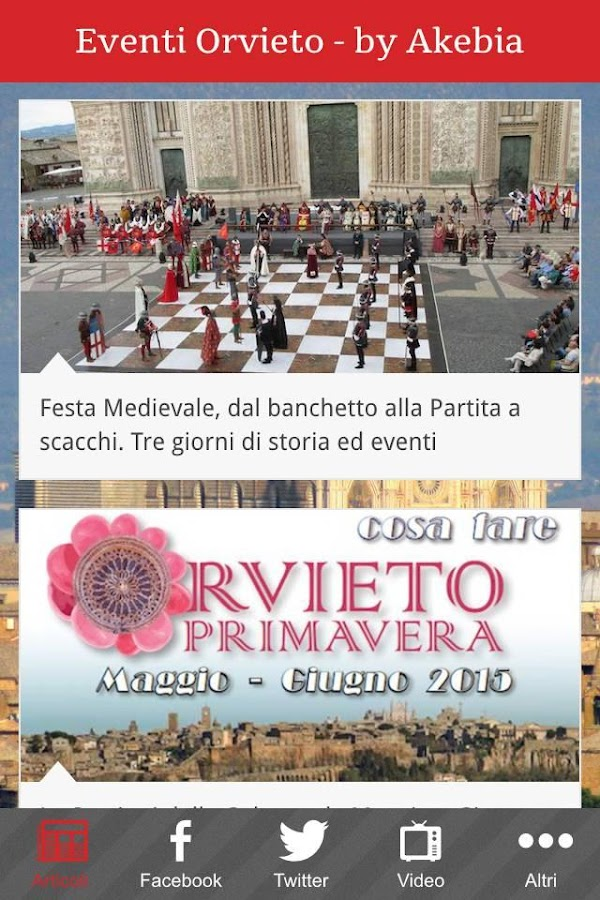 Eventi Orvieto- screenshot