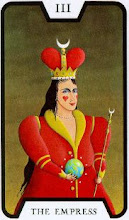 Photo: .III. The Empress - A Imperatriz Tarot of the Witches - Fergus Hall