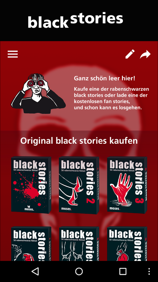 black stories - Das Original- screenshot