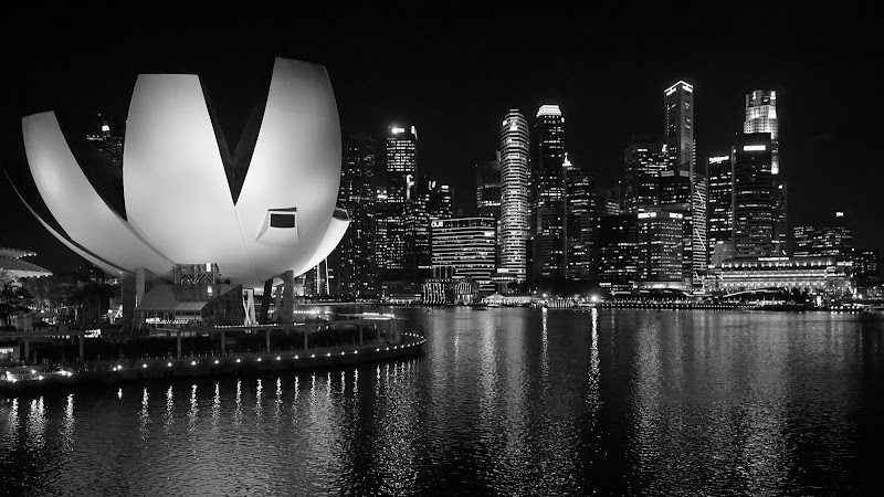 Singapore by night di Magendie