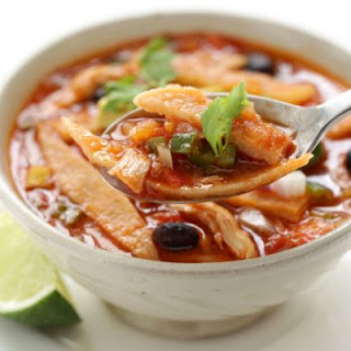 Copycat On The Border Tortilla Soup