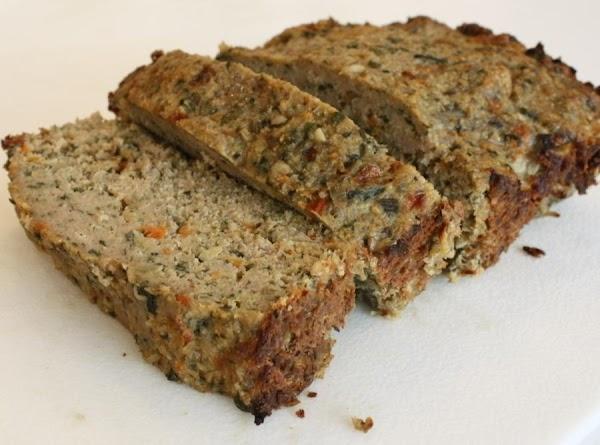 Vegetable Filled Meat Loaf Recipe