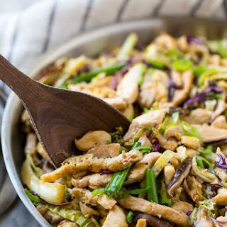 Moo Shu Chicken.