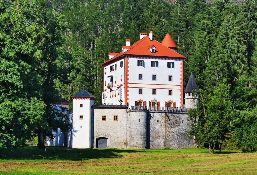 Snežnik Castle - Kozarišče,Slovenia by Jerko Čačić - Buildings & Architecture Public & Historical (  )