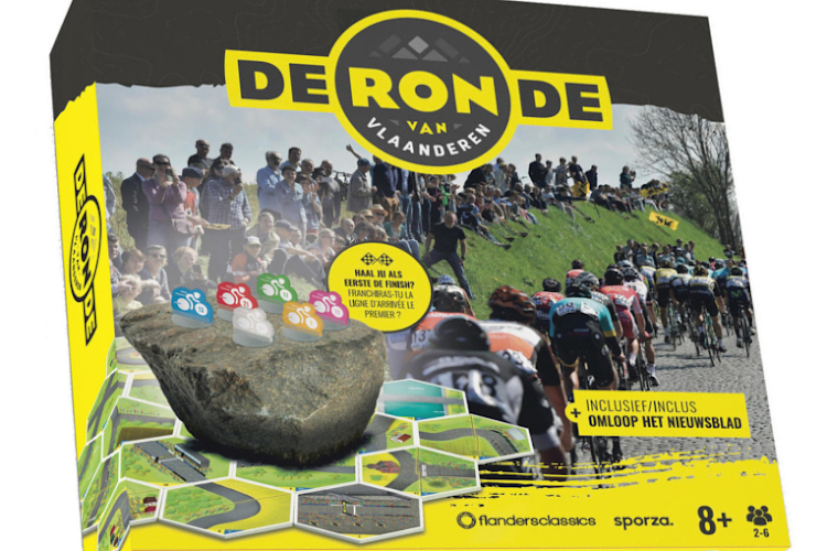 Geen voorjaarsklassiekers dit jaar? Win dankzij ons het officiële Ronde van Vlaanderen gezelschapsspel!