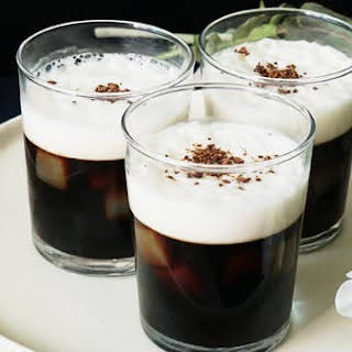 Cappuccino Gelatin Dessert.