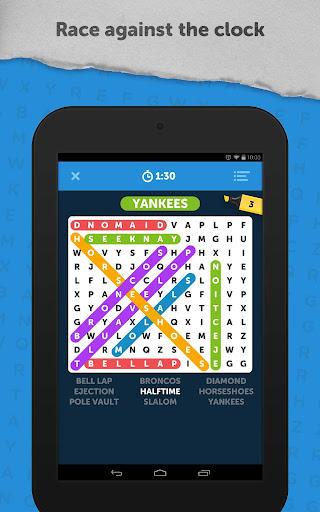 Infinite Word Search Puzzles 3.98g screenshots 9