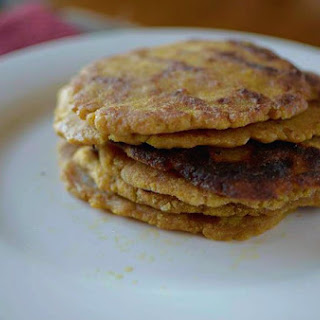 Gluten-free Pumpkin Naan Bread