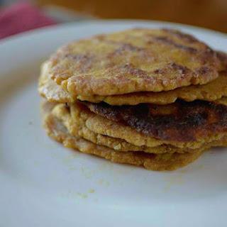 Gluten-free Pumpkin Naan Bread.