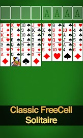 FreeCell Solitaire Screenshot 1