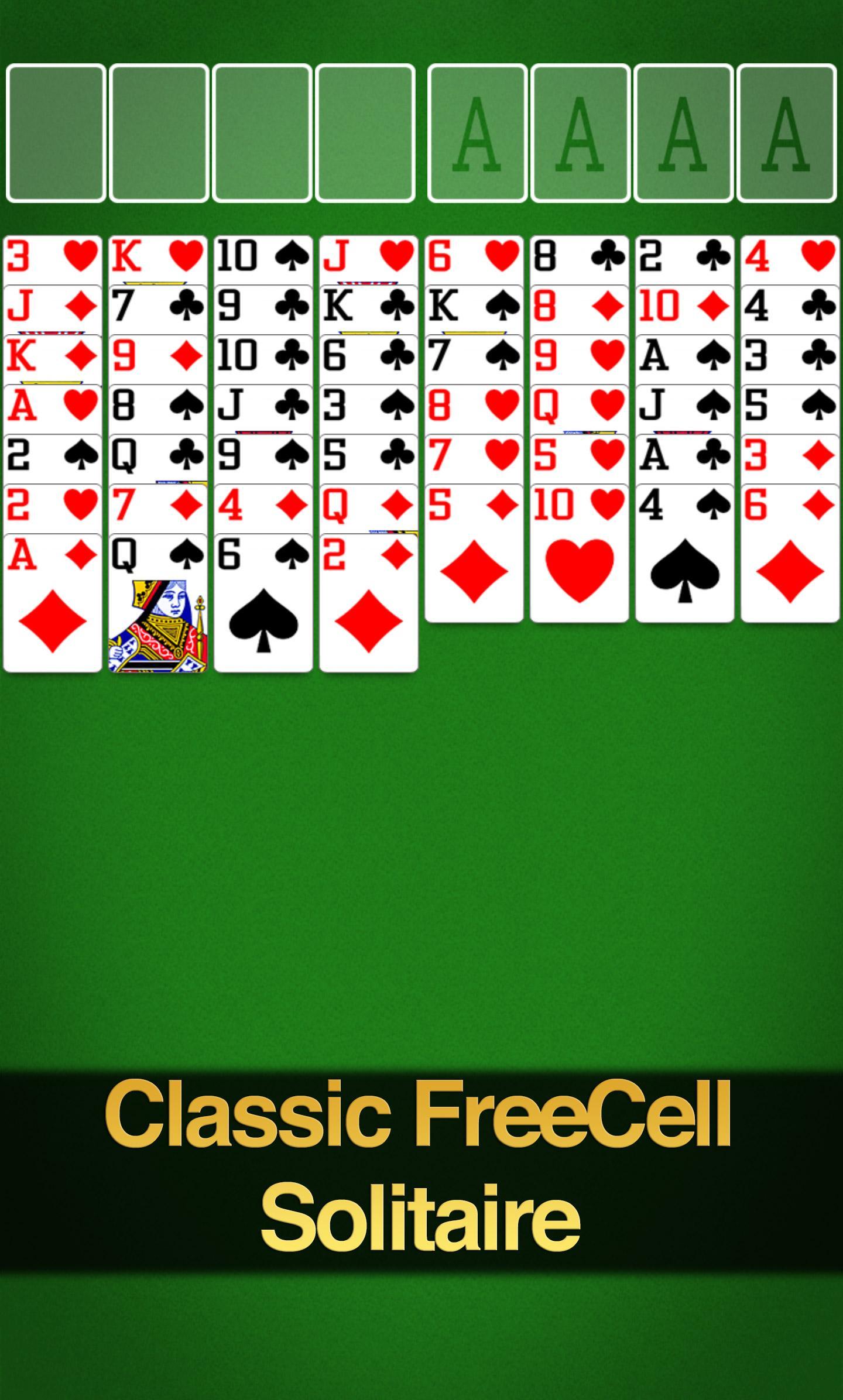 FreeCell Solitaire screenshot #1