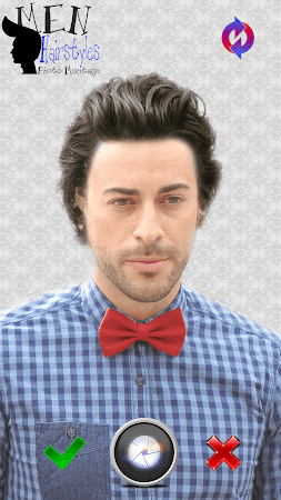 Men Hairstyles Photo Montage 3.0 screenshot 771473