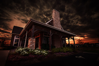 Photo: Sunset by the Clubhouse