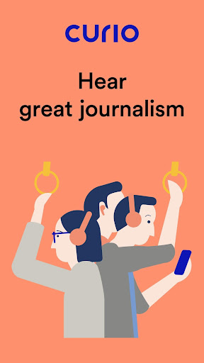 curio: hear great journalism screenshot 1