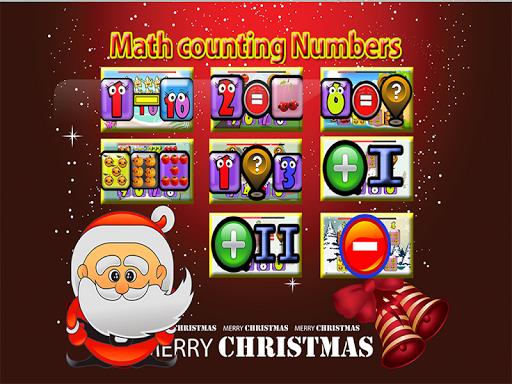 クリスマスカウント加算数学